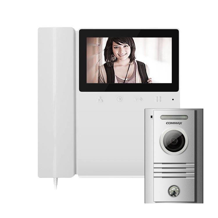 Комплект видеодомофон и вызывная панель Commax