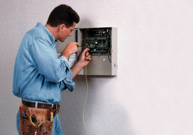 Монтаж охранной сигнализации в CamOn