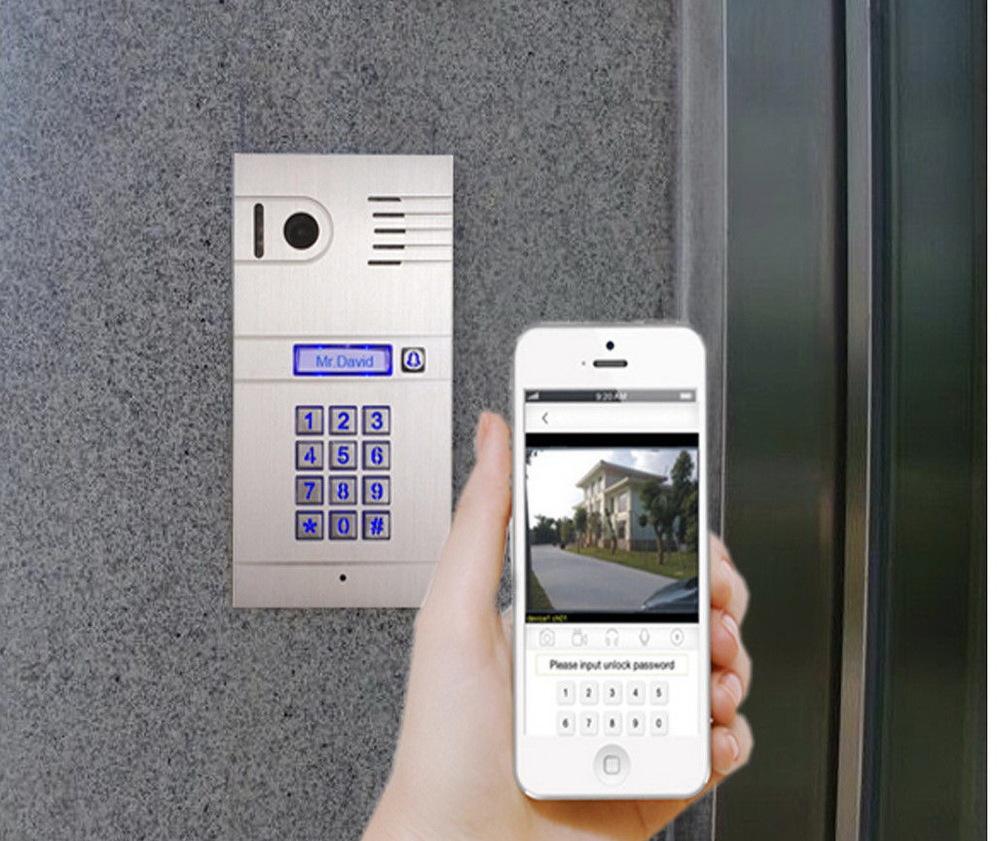 IP домофоны подключение в Киеве