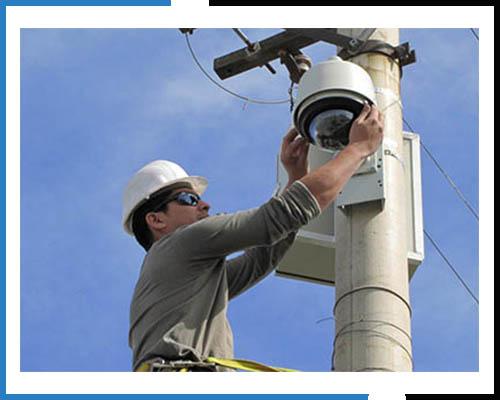 Установка видеокамеры на высоте более 4 метров
