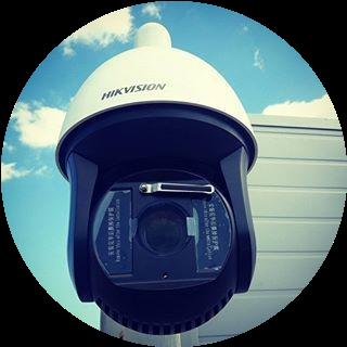 Установка SpeedDome камеры PTZ более 4 метров